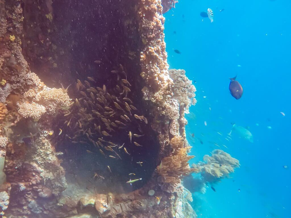 Japanse Shipwreck Amed - underwater