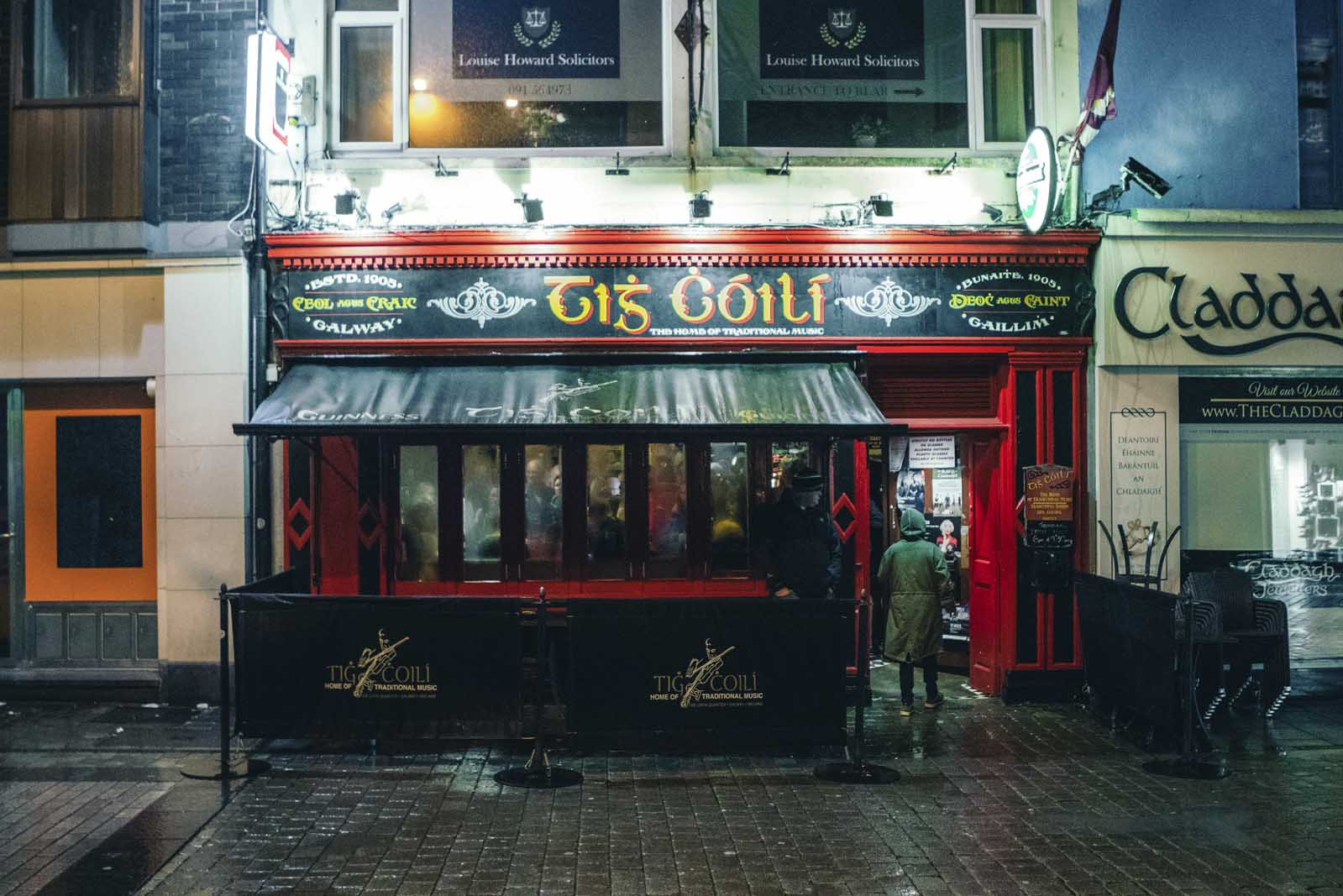 Pub front in Galway