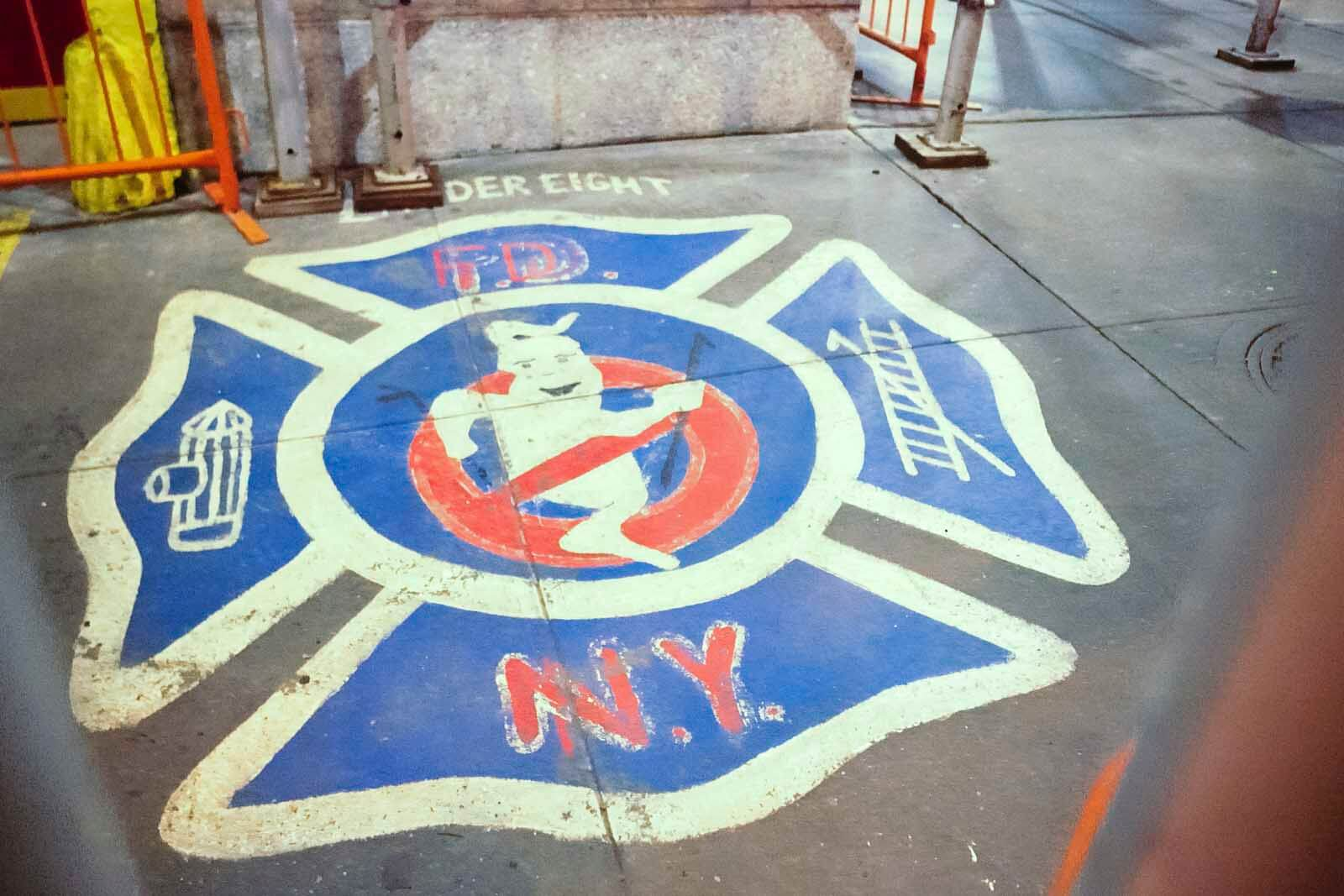 Ghostbusters Firehouse in Tribeca
