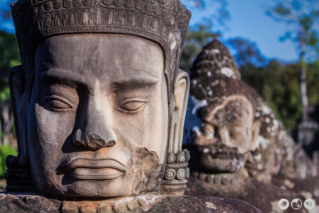 Angkor Thom God Side