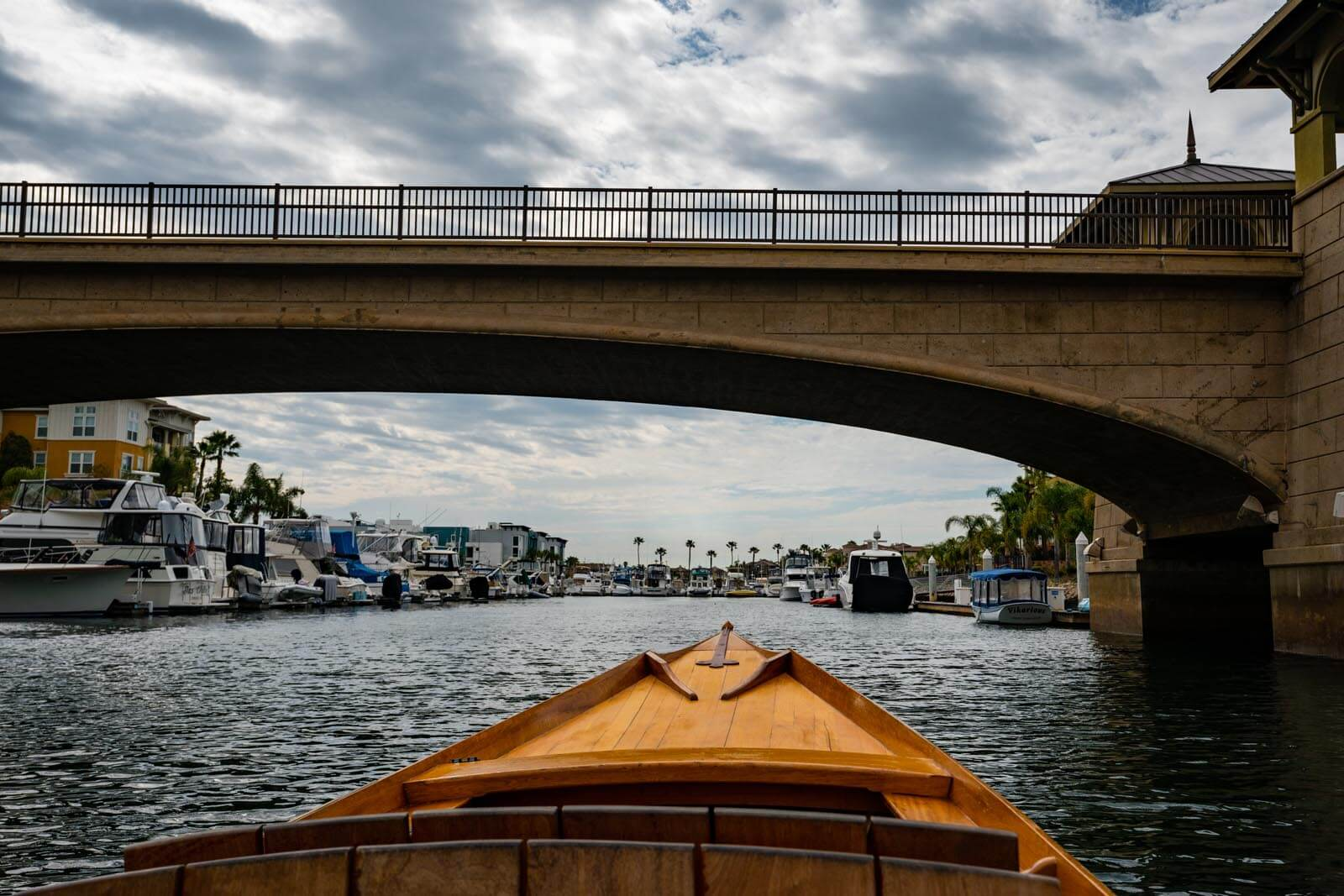 Gondola Ride through the Channel Islands Harbor in Oxnard California