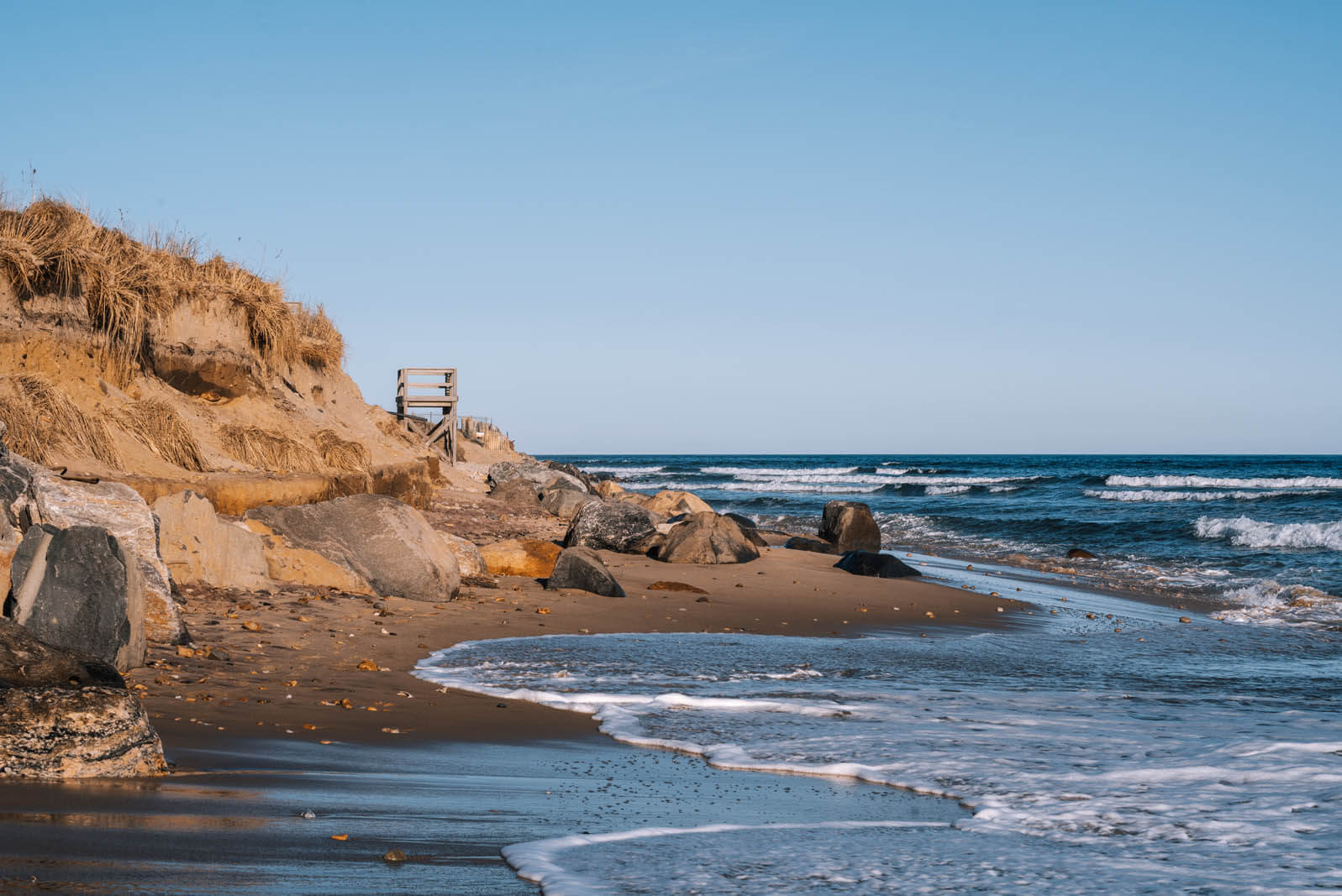 Gorgeous Beach in Montauk NY in the Hamptons