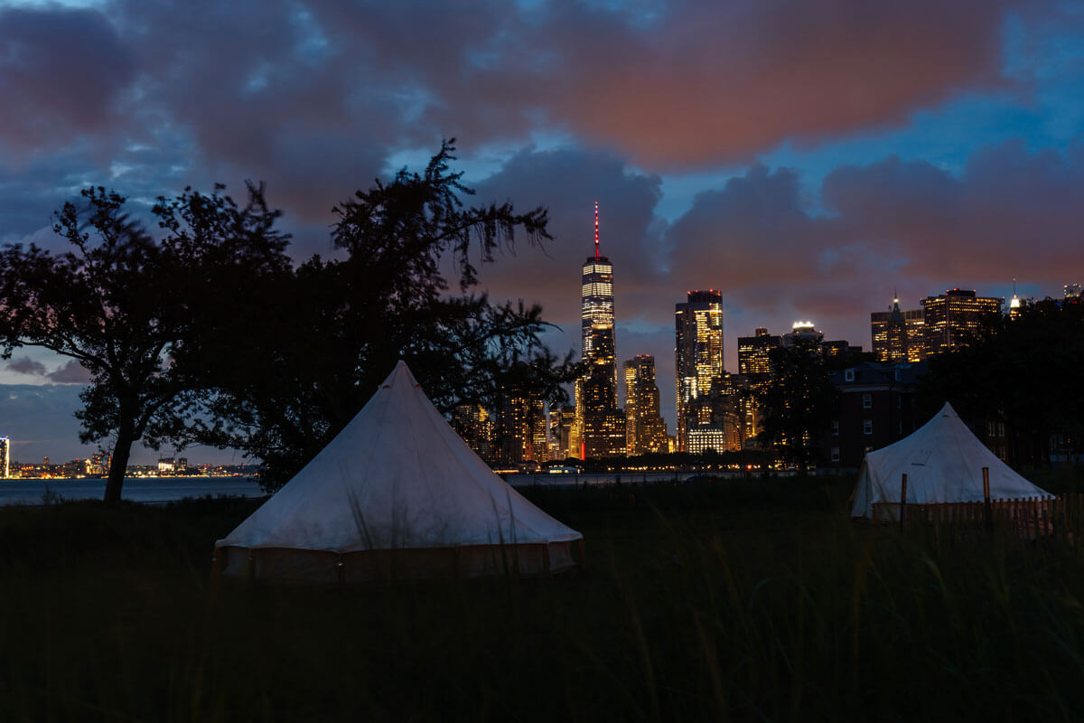 Governors-Island-glamping-view-of-WTC-in-NYC