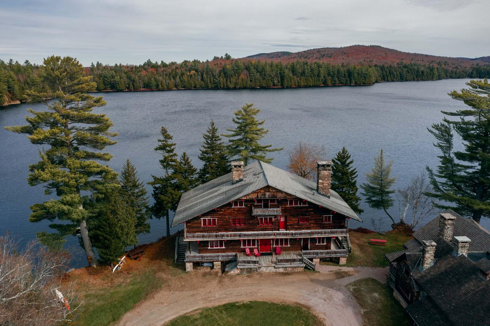 Great Camp Sagamore in the Adirondacks mountain region in Upstate New York