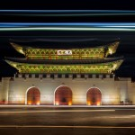 7 Photo's from the Gyeongbokgung Palace at Night