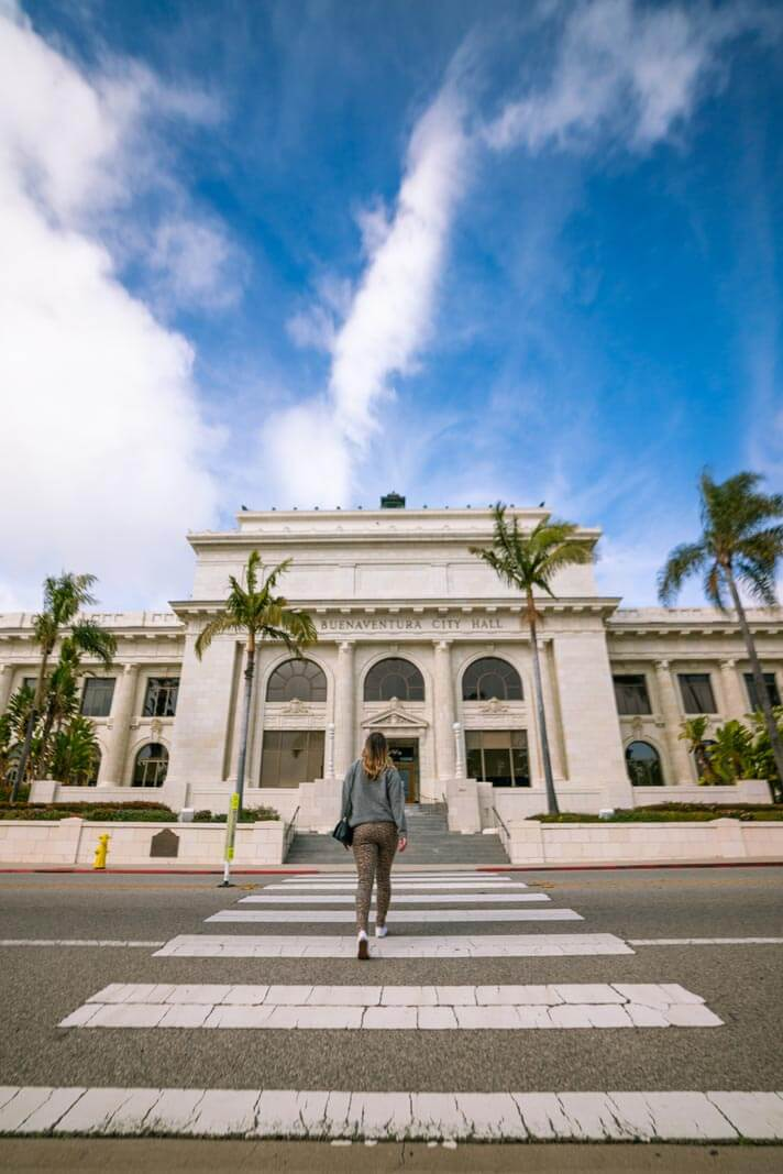Historic City Hall in Ventura California