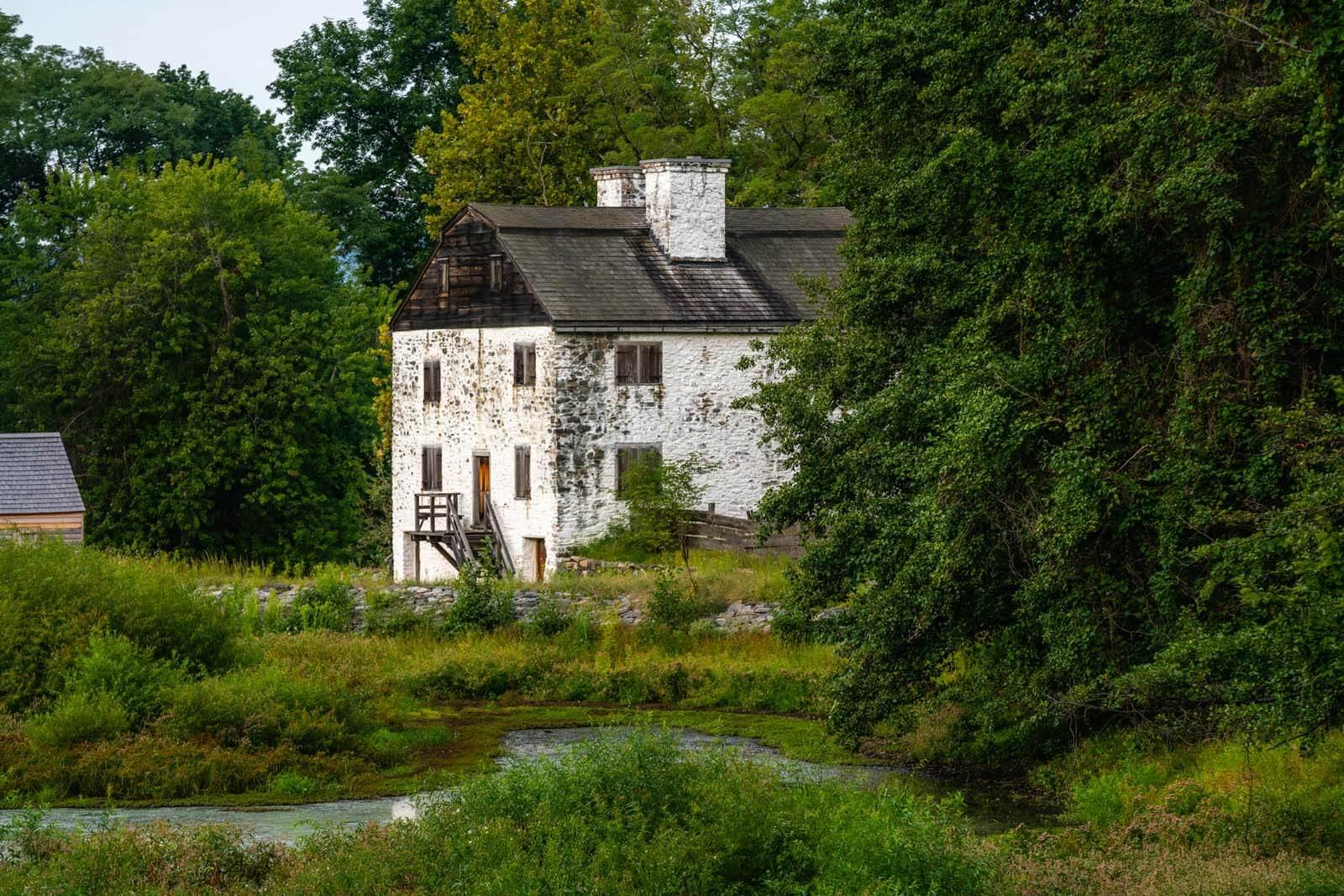 Historic Phillipsburg Manor in Sleepy Hollow NY
