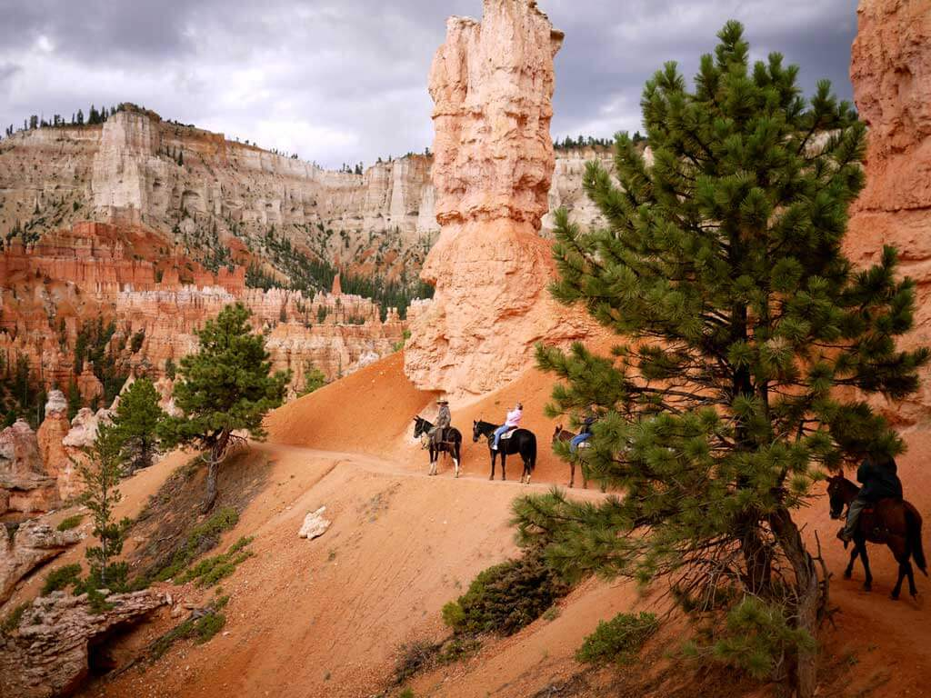 Horseback riding Bryce Canyon
