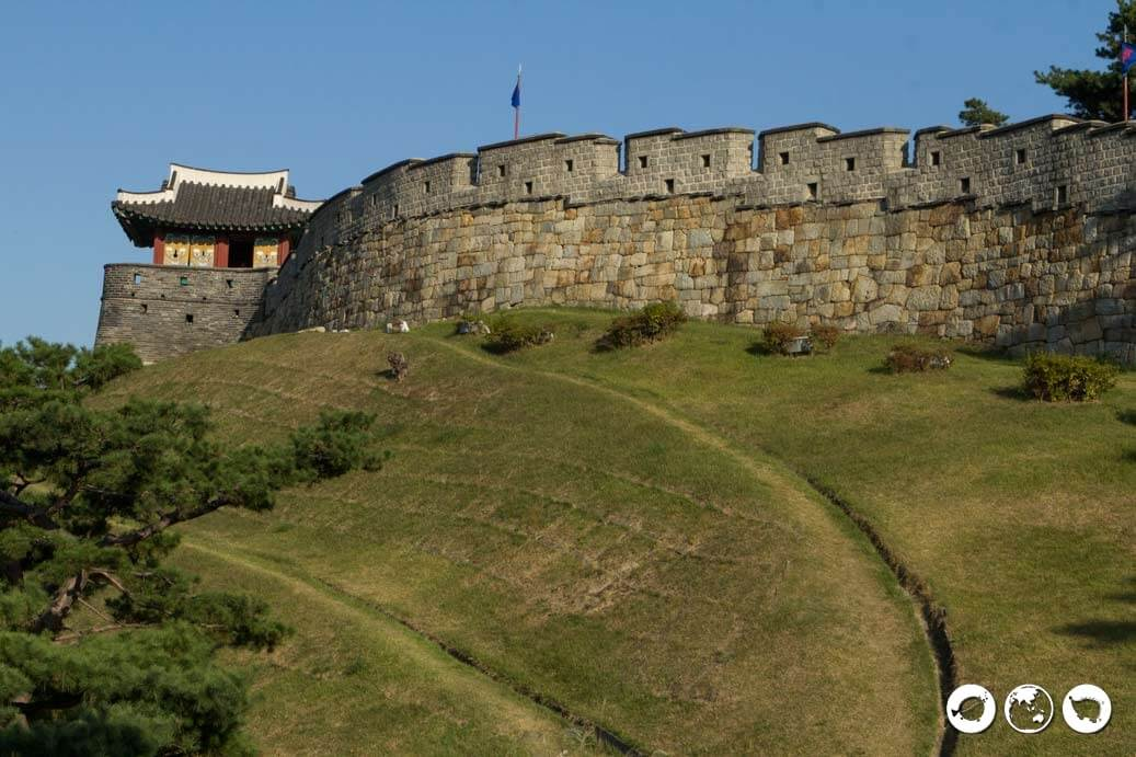 Suwon Fortress Wall Hwahongmun Gate