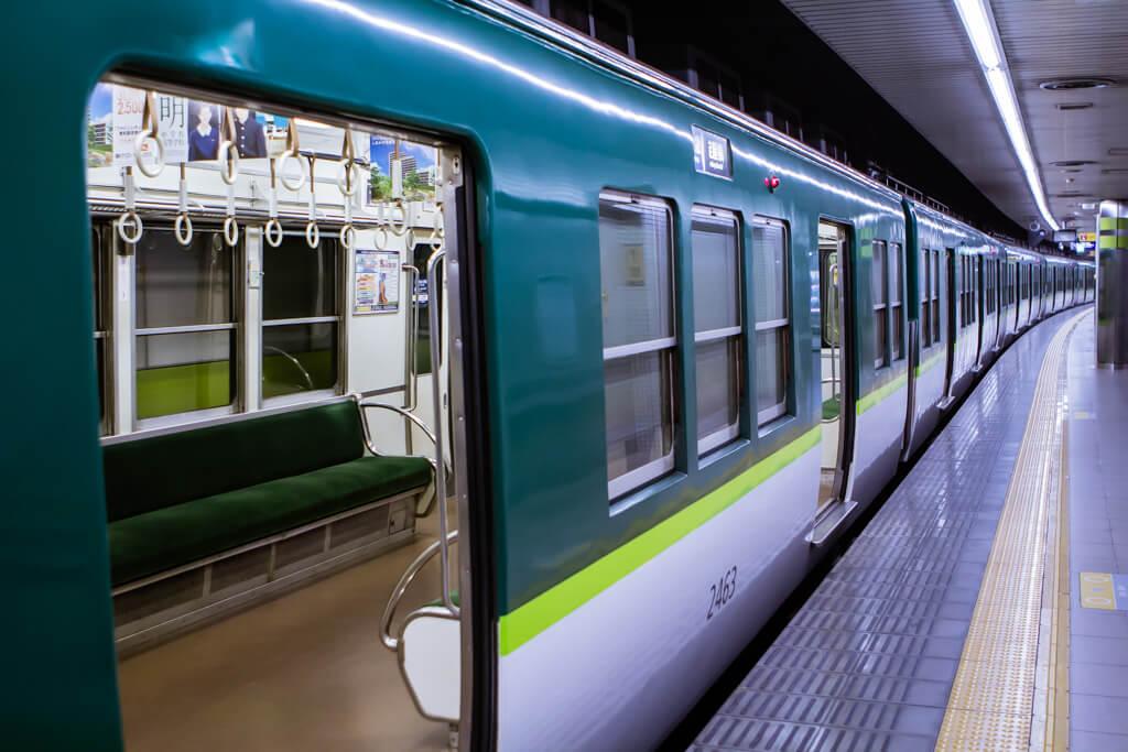 Subway ride to Fushimi Inari