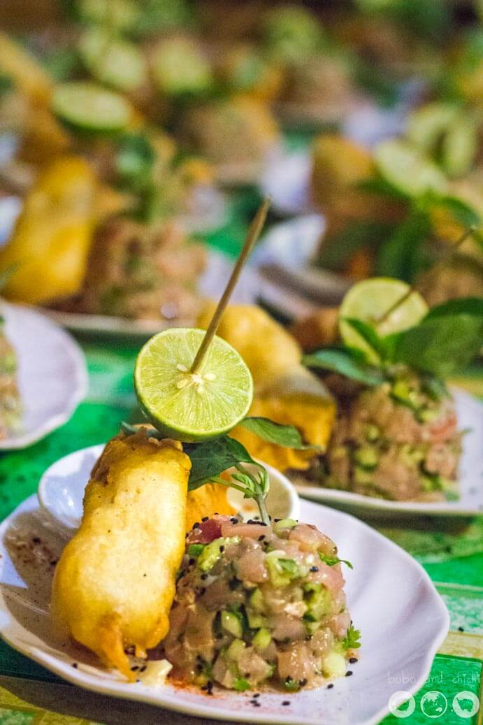 Coral Beach Food