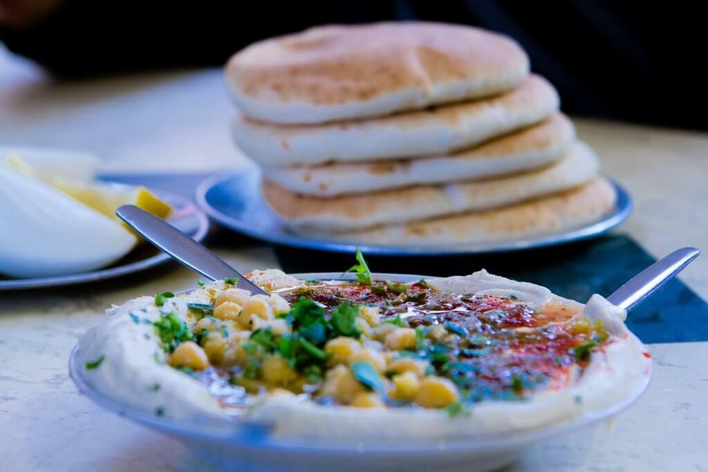 Delicious Israel Hummus
