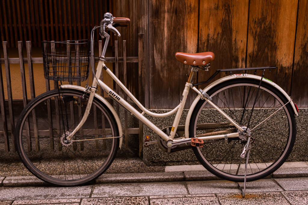 bicycle in Japan