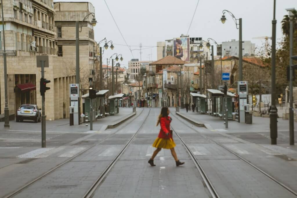 Jerusalem during Shabbat