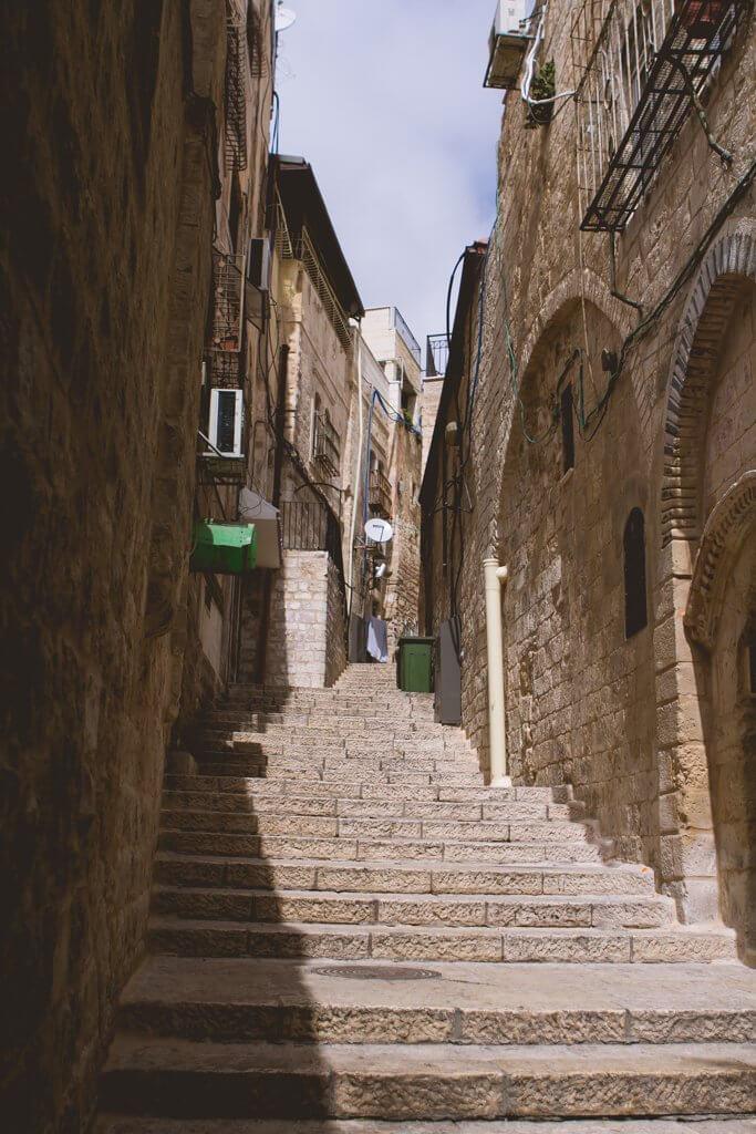 Steps in Jerusalem Old city
