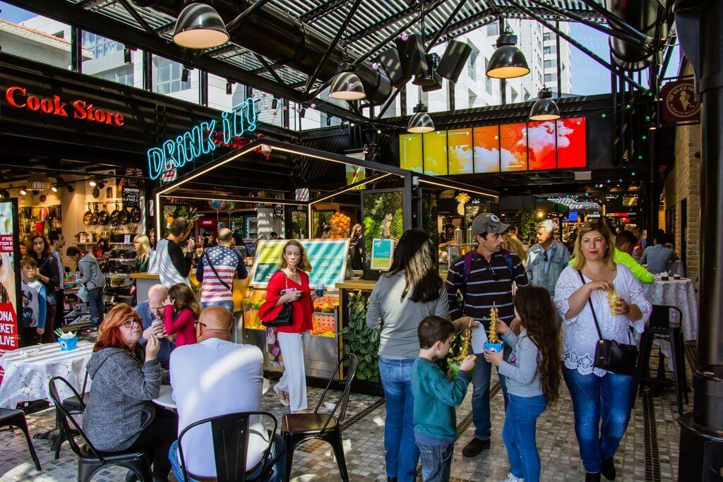 Sarona Market Tel Aviv