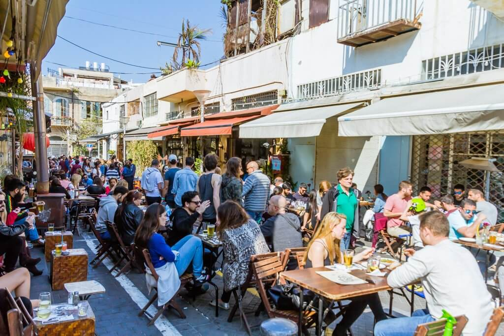 restaurants and bars in jaffa