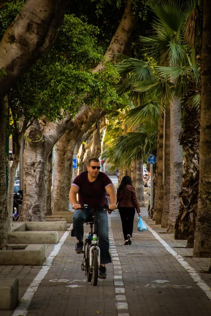 bicycle in Tel Aviv