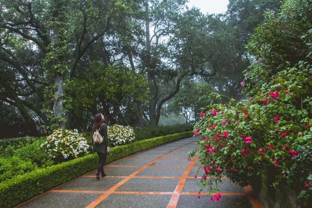 Hearst Castle Garden