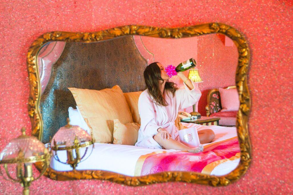Pink Madonna Inn Room