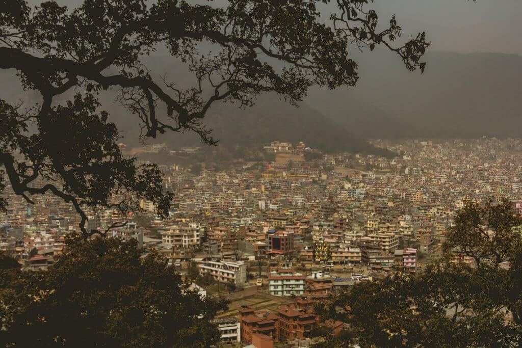 Haze in Nepal