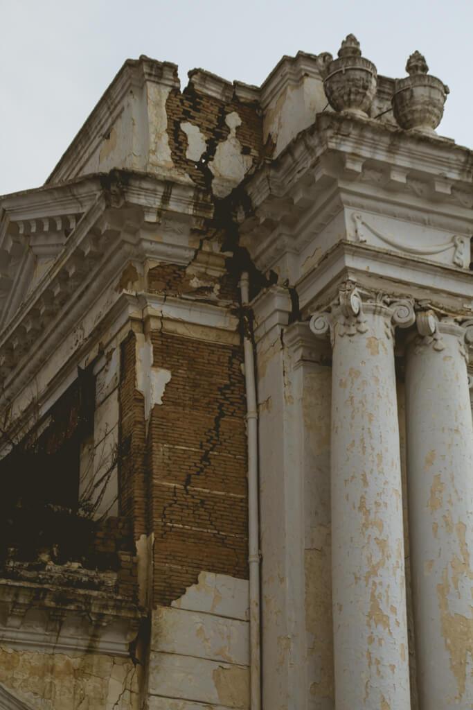 Durbar Square Earth Quake Damage Kathmandu