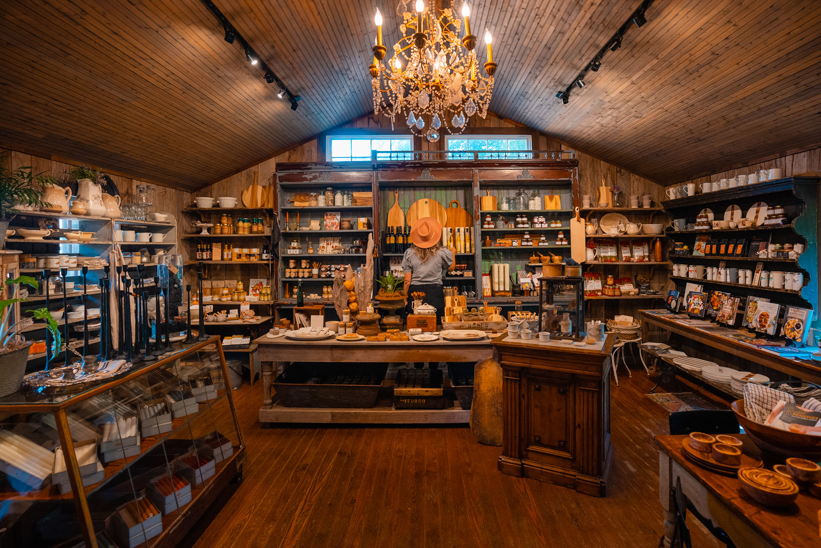 Interior of Serenite Maison on Leipers Fork Tennessee