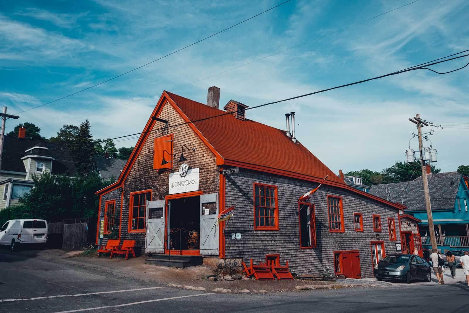 Ironworks Distillery in Lunenburg NS