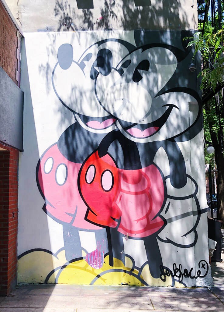 Jerk-Face-Mickey-Mouse-street-art-in-Nolita-New-York-City