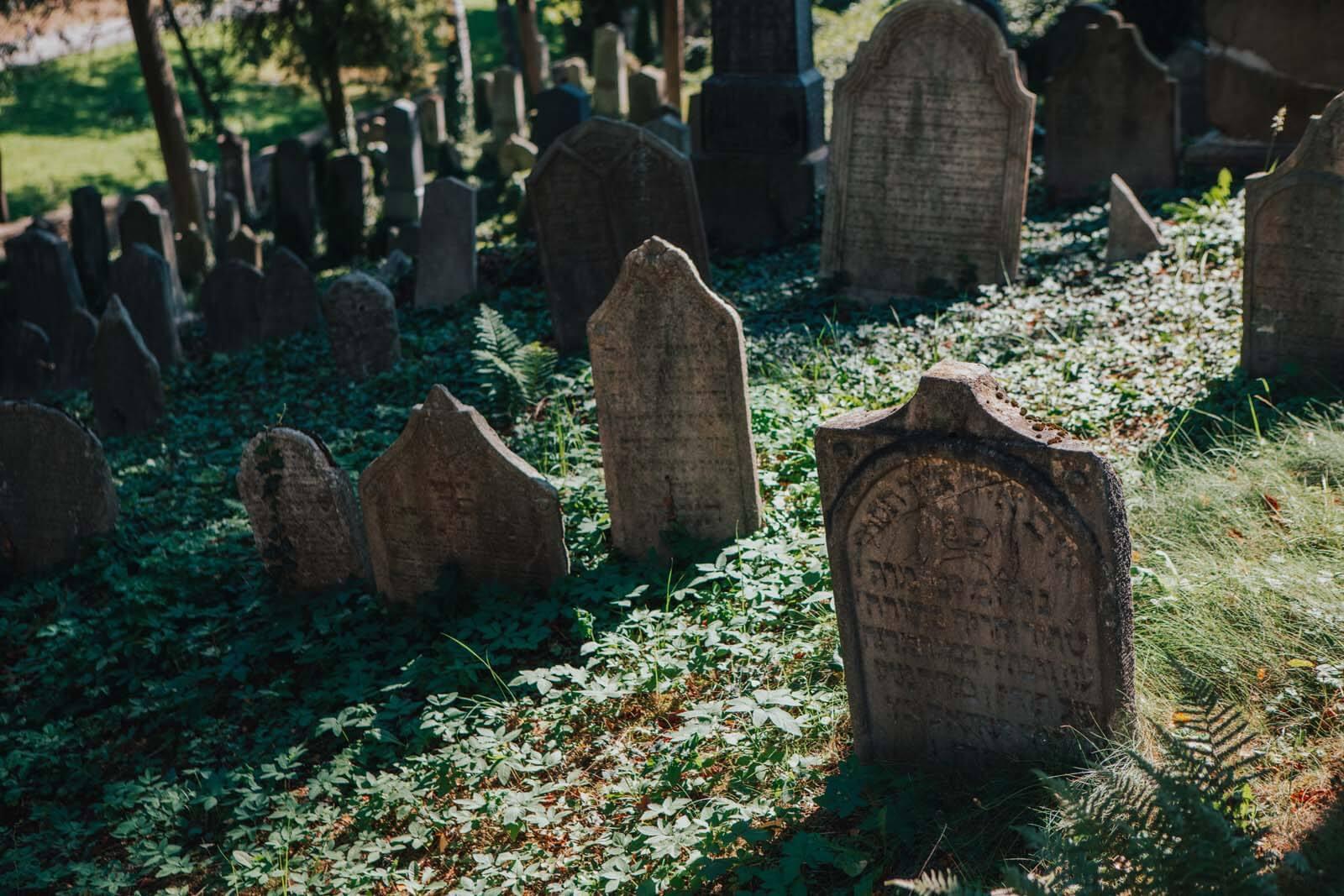 Jewish Cemetery of Trebic Czech Republic UNESCO site