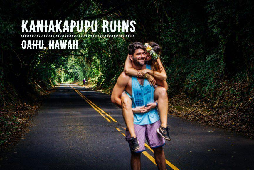 Kaniakapupu Ruins Oahu
