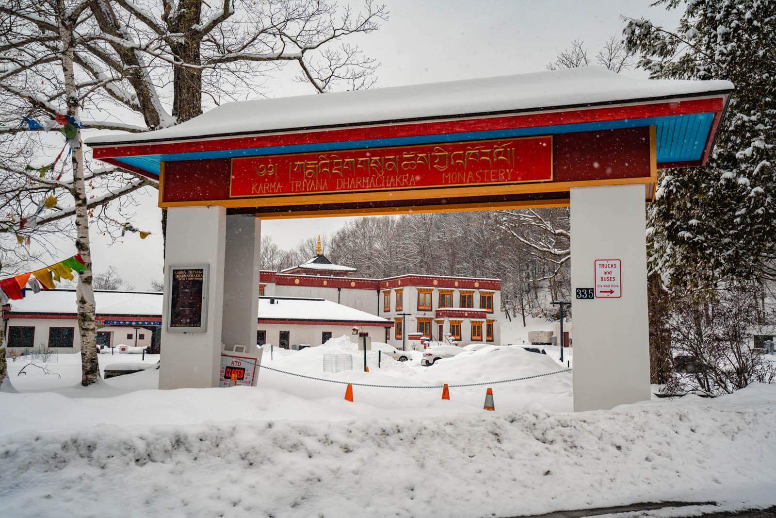 Karma Triyana Dharmachakra Monastery in Woodstock New York in the Catskills