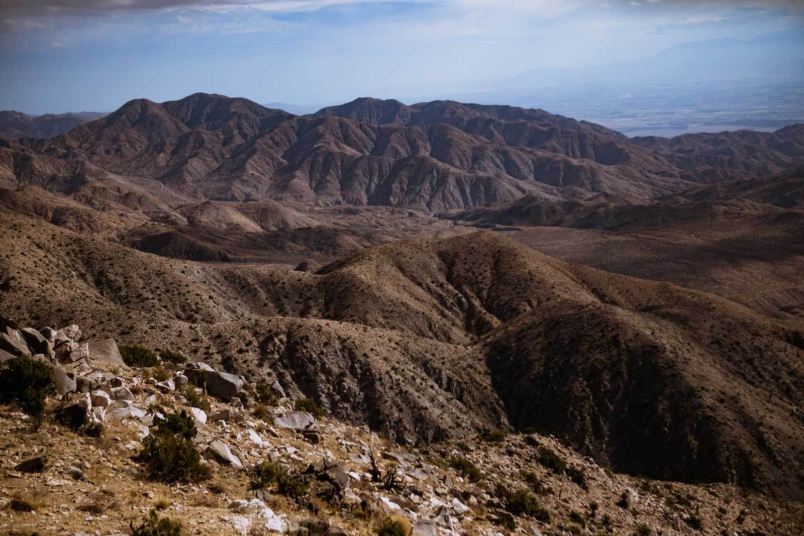 Keys View in Joshua Tree National Park