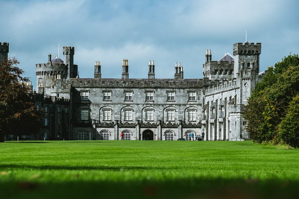 Kilkenny Castle in Kilkenny Ireland