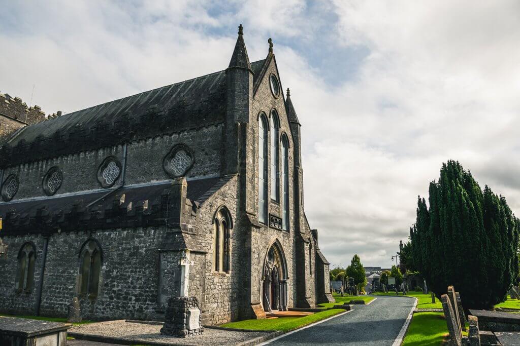 Saint Caince Cathedral Kilkenny Ireland