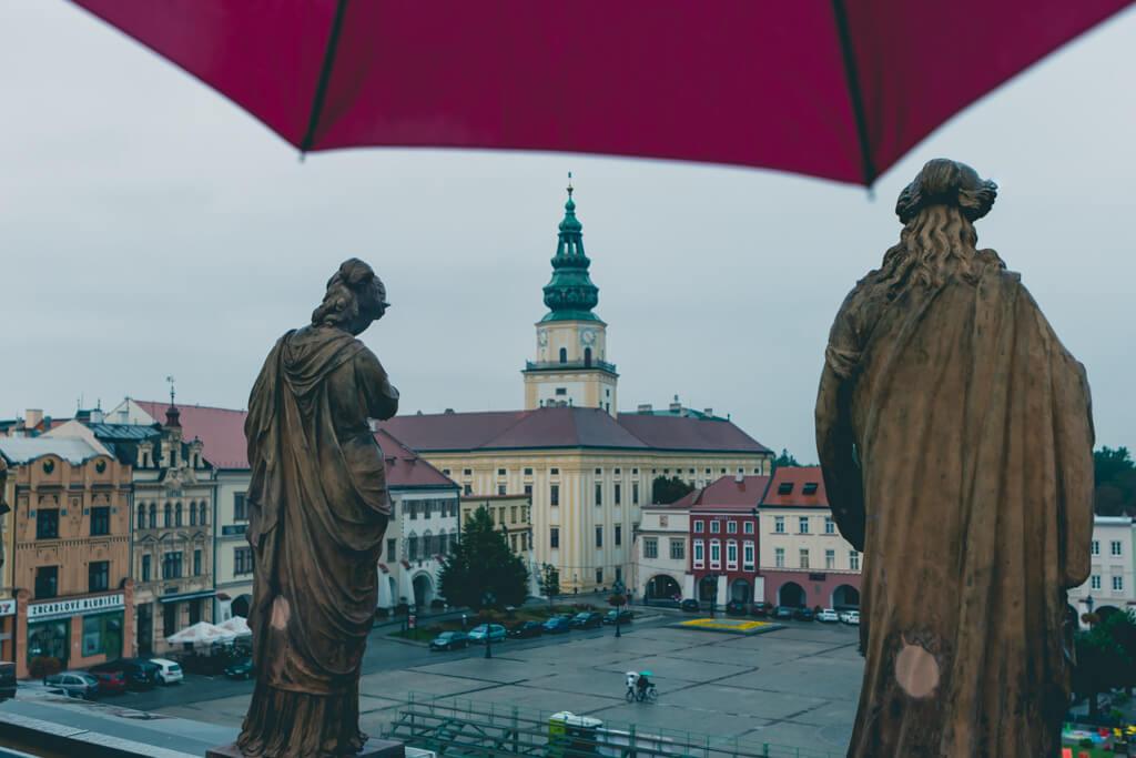 Kromeriz Archbishop Palace in the Czech Republic