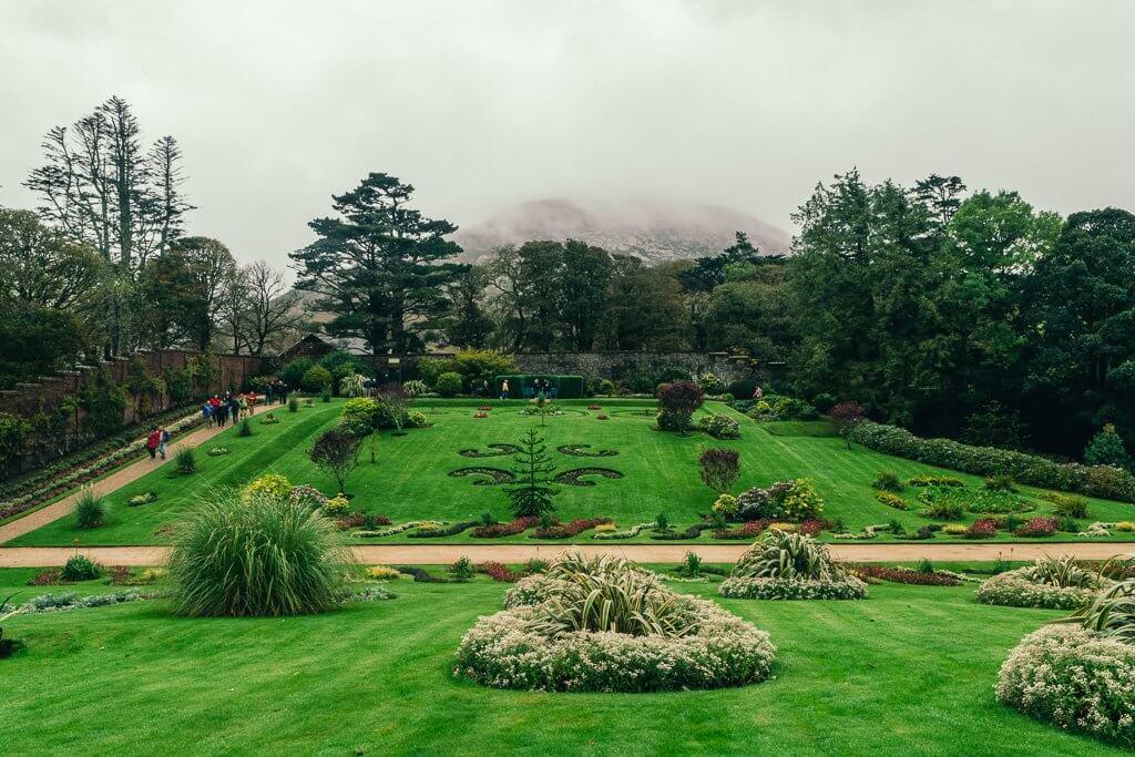 Kylemore Abbey Garden Connemara