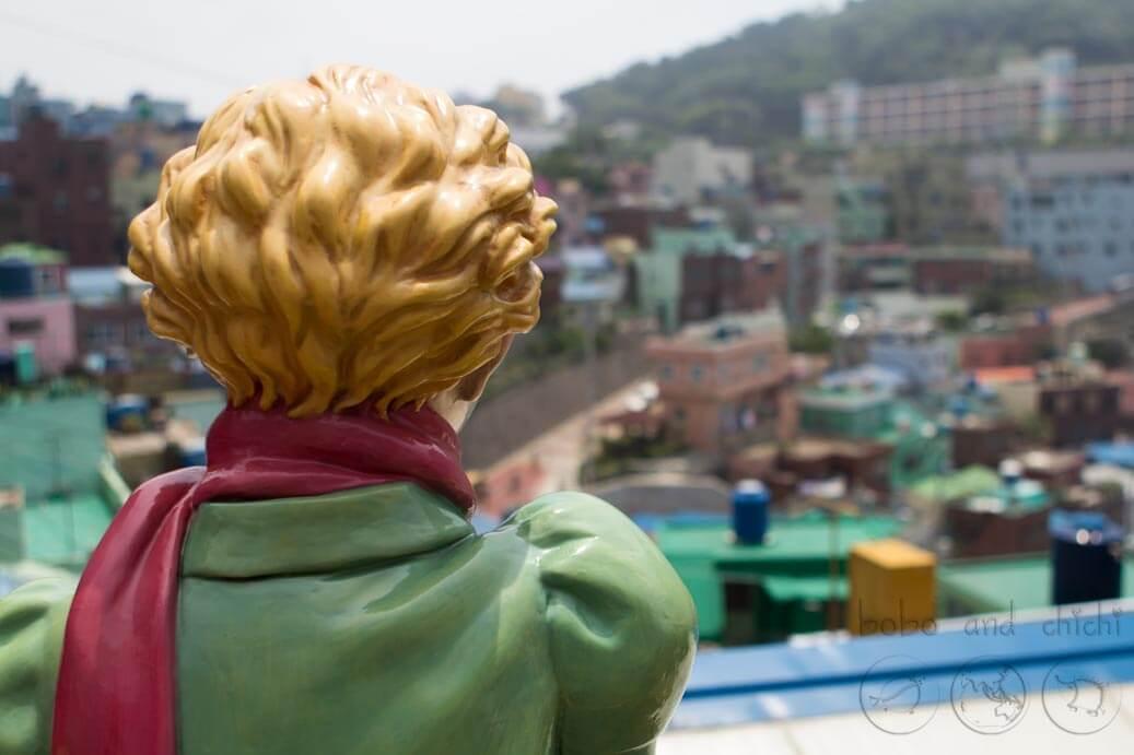 Little Prince Gamcheon Culture Village in Busan