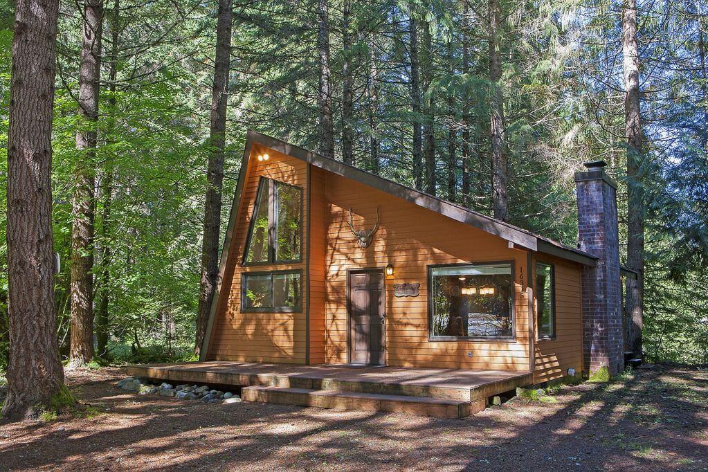 Lindgren Haus cabin at Mt Rainer in Washington