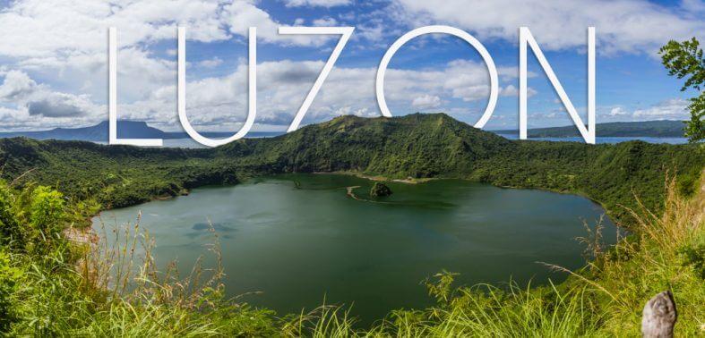 Luzon Philippines Taal Volcano