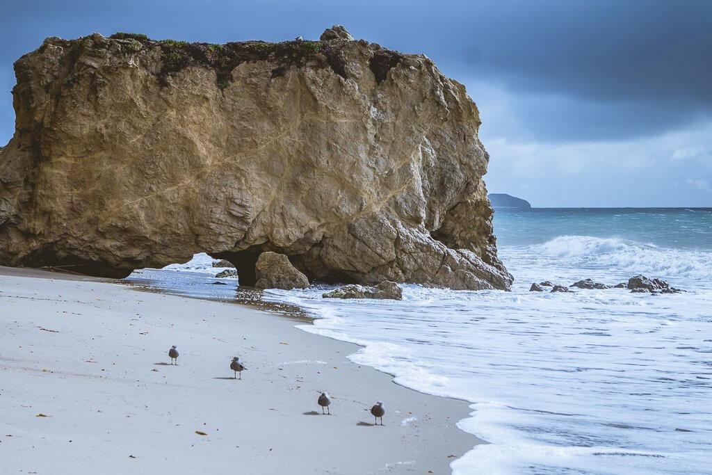 Matador Beach in Malibu