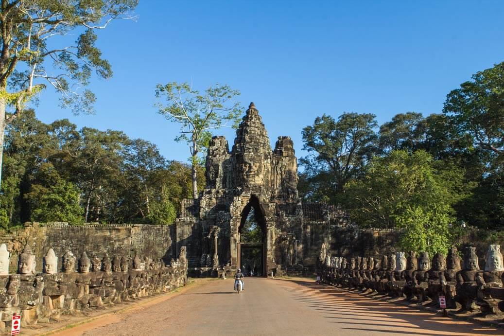 Angkor Thom Entrance