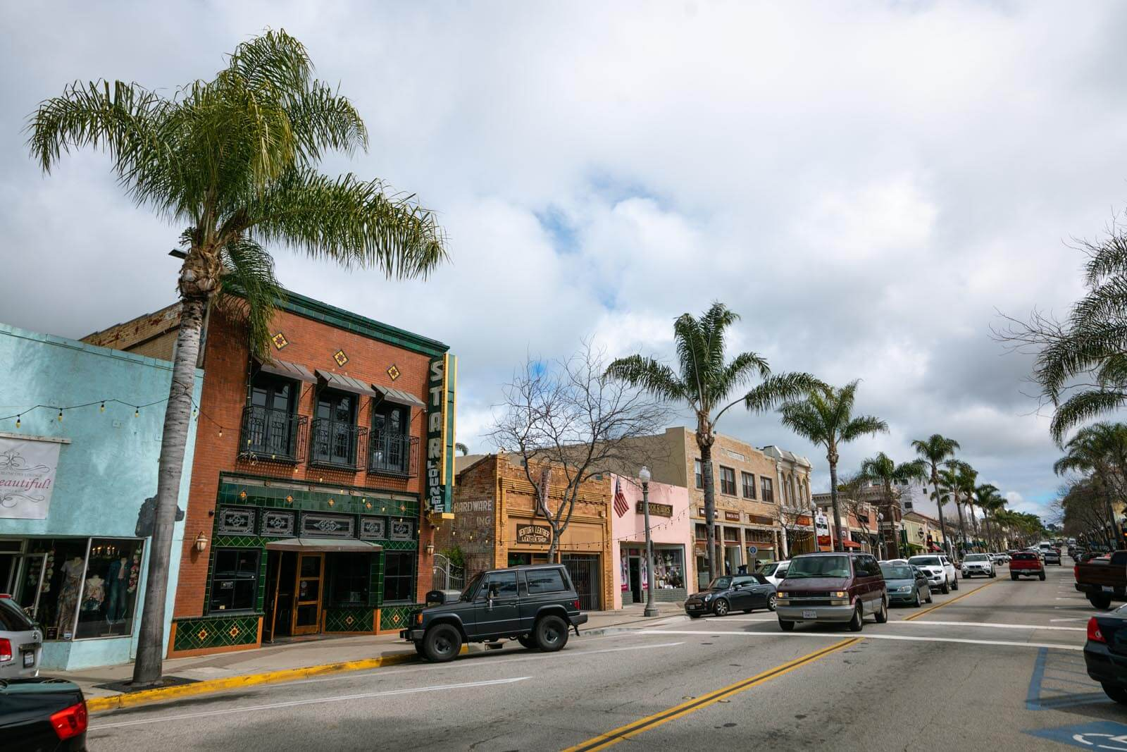 Main Street in downtown Ventura California