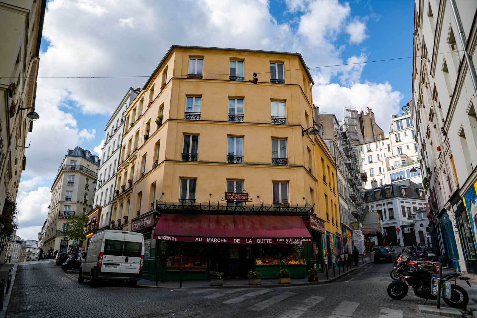 Maison Collignon grocery store and filming location for Amelie in Montmartre Paris