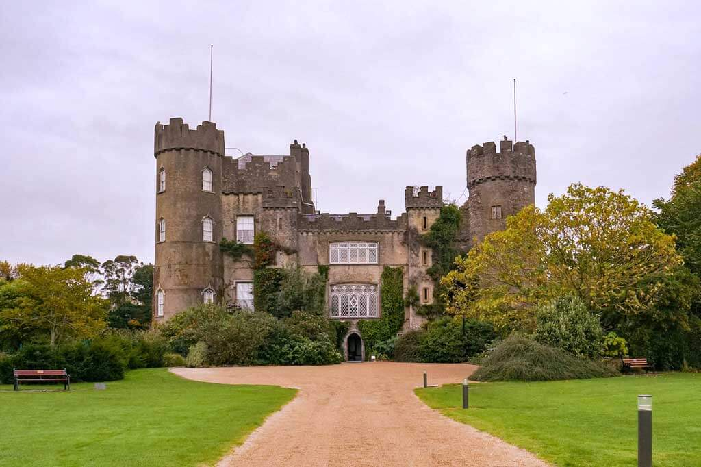 Malahide Castle just 30 minutes from Dublin