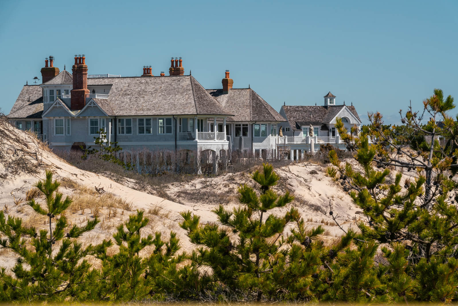 Meadow Lane home in Southampton the Hamptons New York that was in the show Billions on Coopers Beach