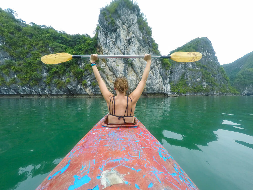 Halong Bay Kayaking
