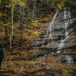 Easy to Follow Grimes Glen Park Waterfall Hike Guide