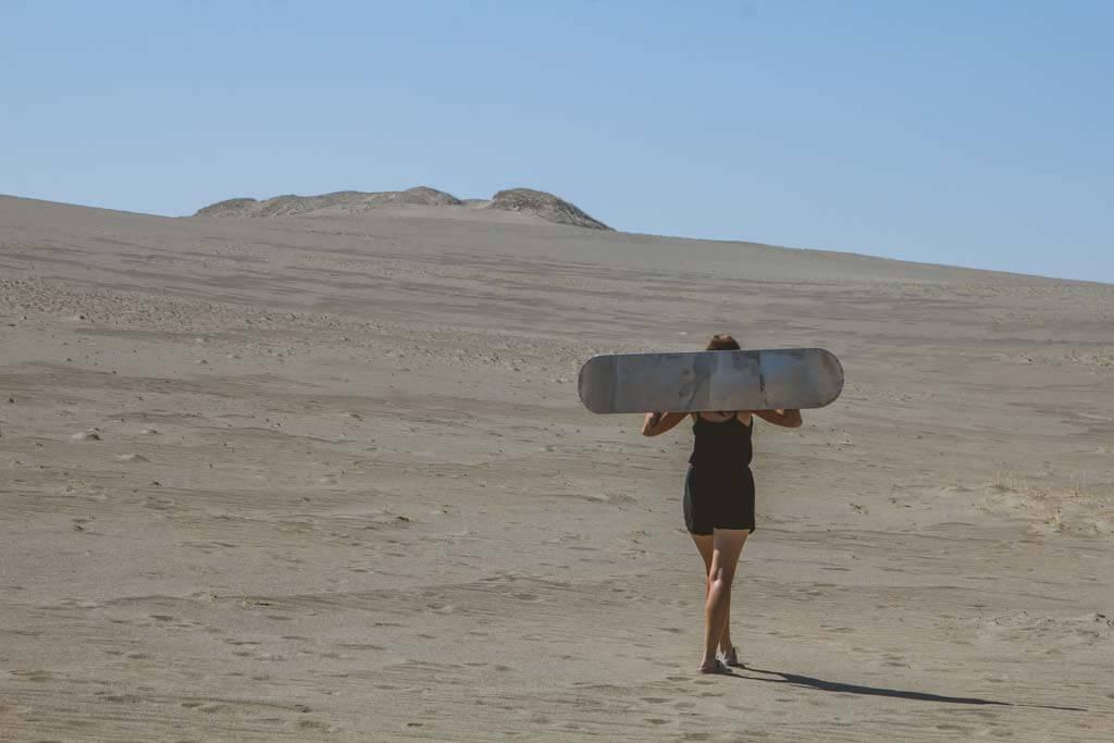 Sand Dunes in Ilocos Norte