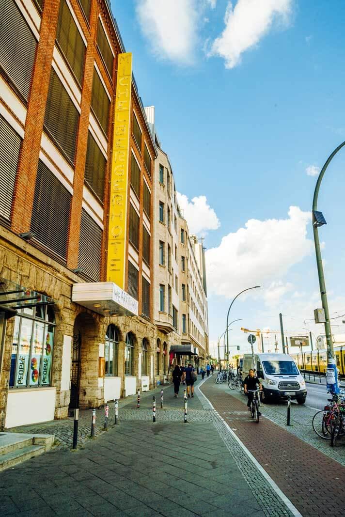Michelberger Hotel in Friedrichshain Berlin